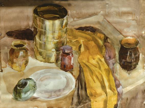 Alexander Matyukhin. Still life (42x64 cm)