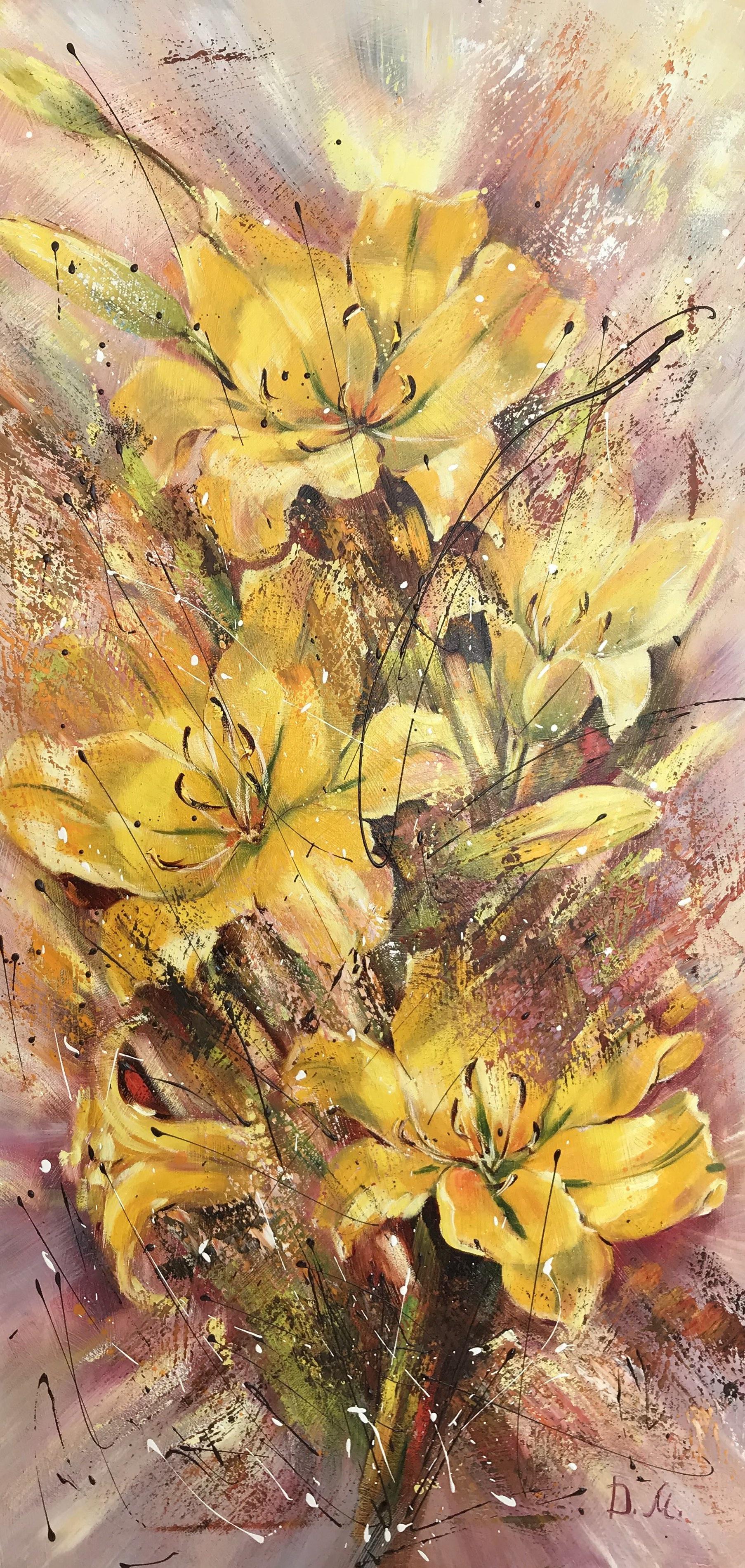 Диана Владимировна Маливани. Yellow Lilies