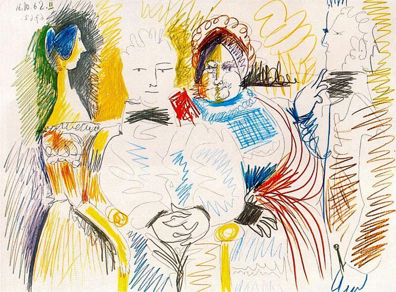 Пабло Пикассо. Сюжет 88