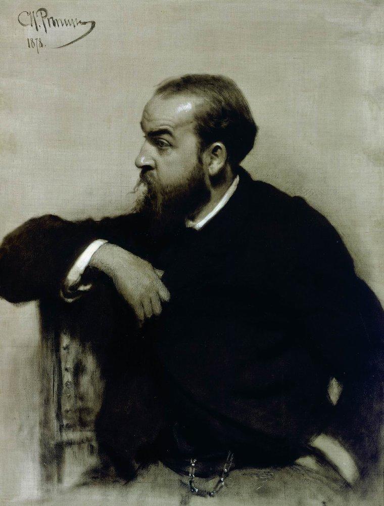 Илья Ефимович Репин. Портрет художника Р. С. Левицкого