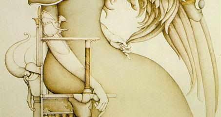 Michael Parkes. The promise (snippet)