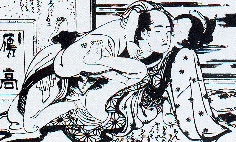 Кацусика Хокусай. Женщина