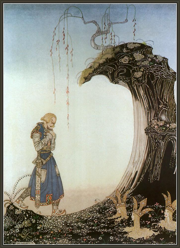 Кей Нильсен. Иллюстрация к  сказке  На восток от солнца, на запад от луны 16