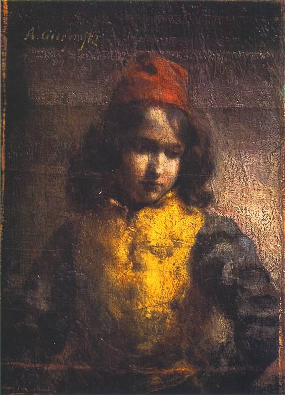 Alexander Gerymski. Florentine page