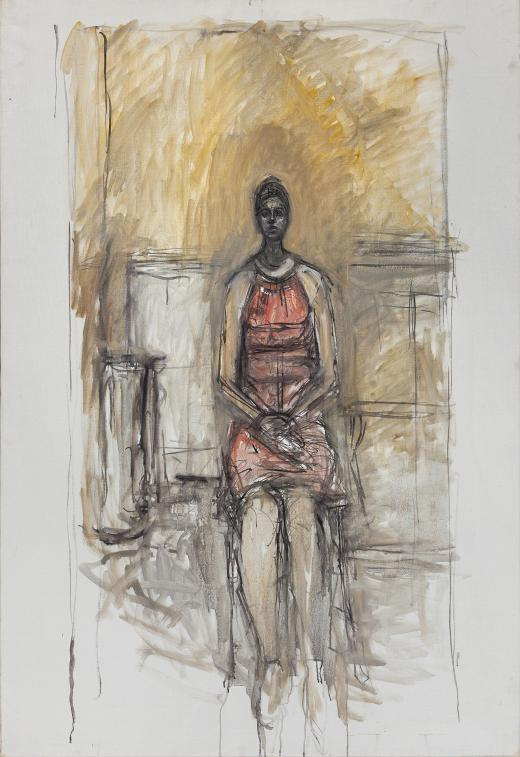 Alberto Giacometti. Carolina on a high chair