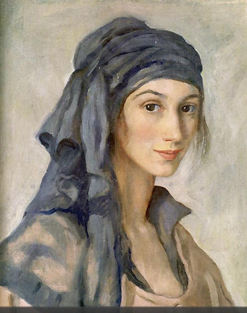 Zinaida Serebryakova. Self-portrait