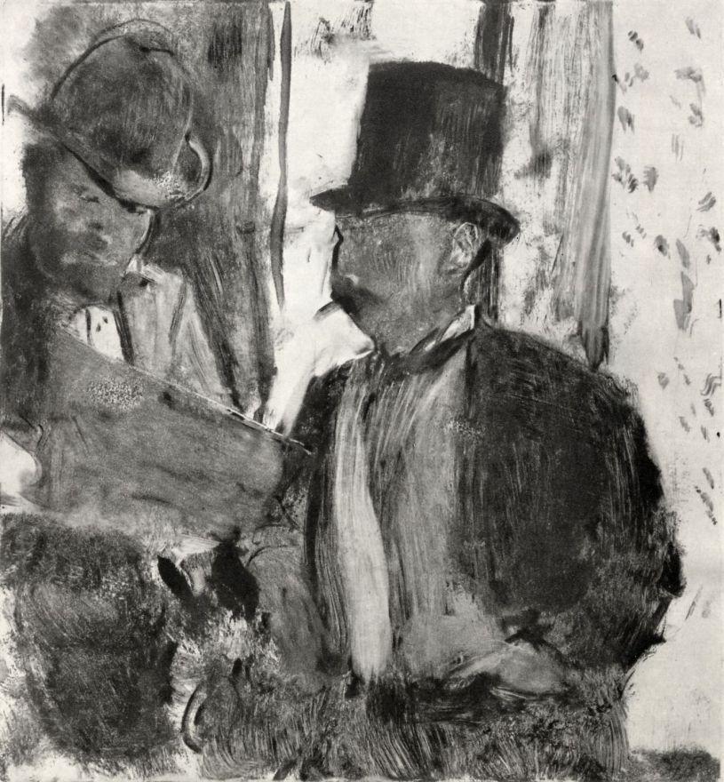 Эдгар Дега. Два любителя искусств