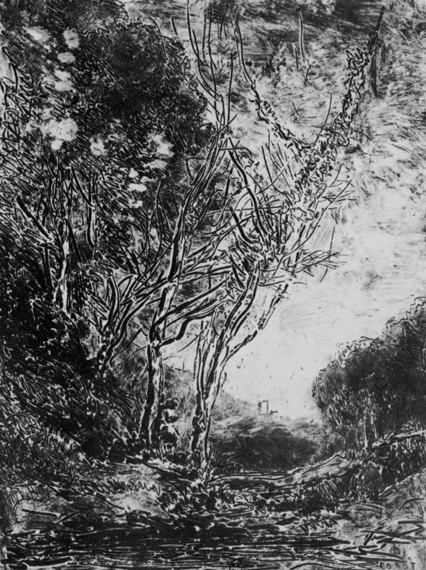 Camille Corot. Ambush