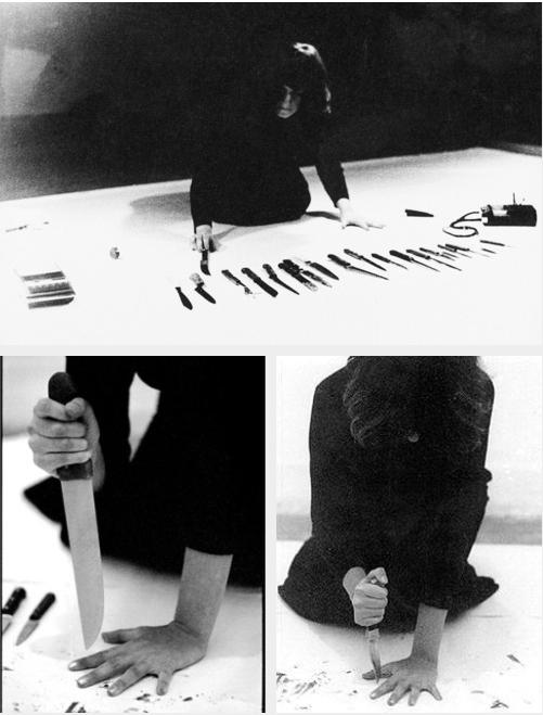 Marina Abramovich. Rhythm 10