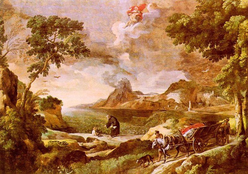 Гаспар Дюге. Августин