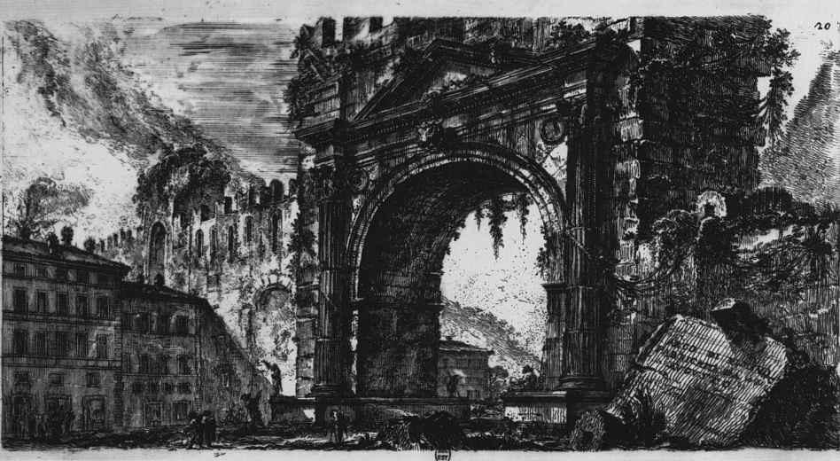 Джованни Баттиста Пиранези. Античные римские памятники