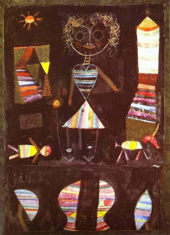 Paul Klee. Puppet theatre