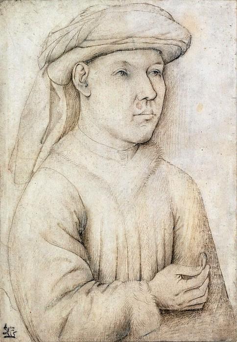 Jan van Eyck. Portrait of a man