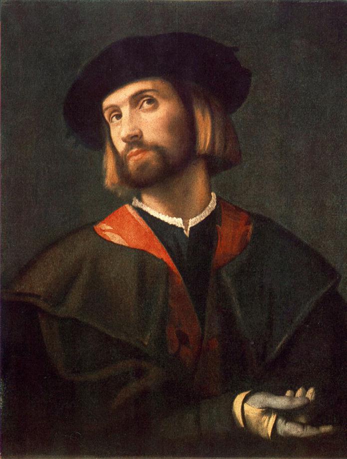 Moretto da Brescia. Portrait of a gentleman