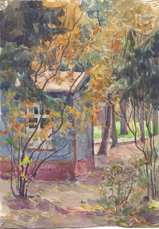 Konstantin Fedorovich Morozov. Autumn