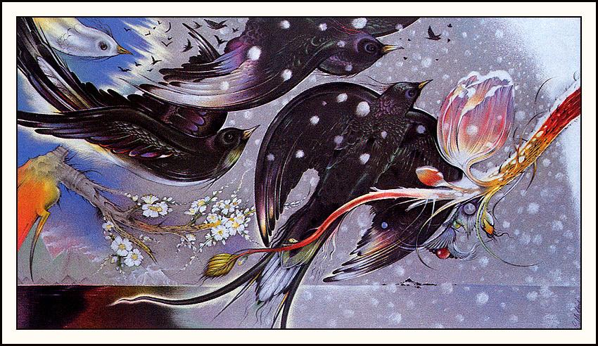 Дэвид Палладини. Черные птицы