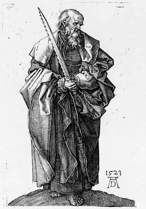 Альбрехт Дюрер. Апостол Симон