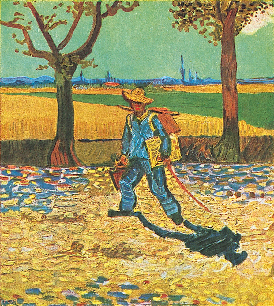 Vincent van Gogh. Artist on the way to Tarascon