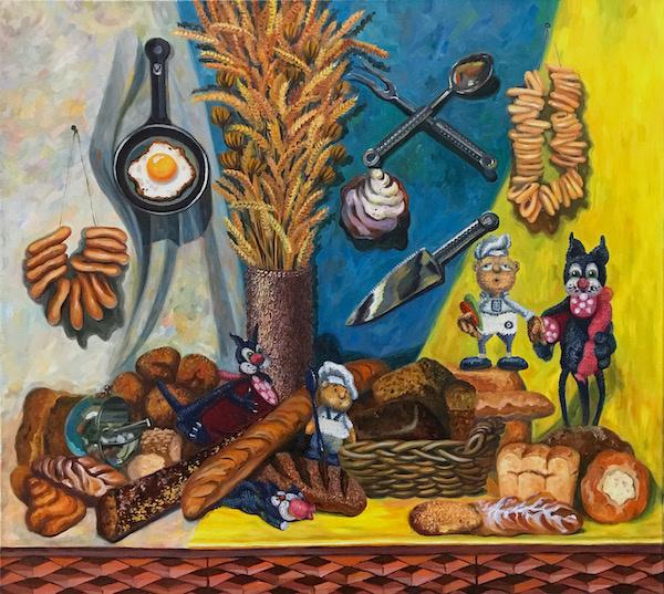 Larissa Lukaneva. Bread disgrace