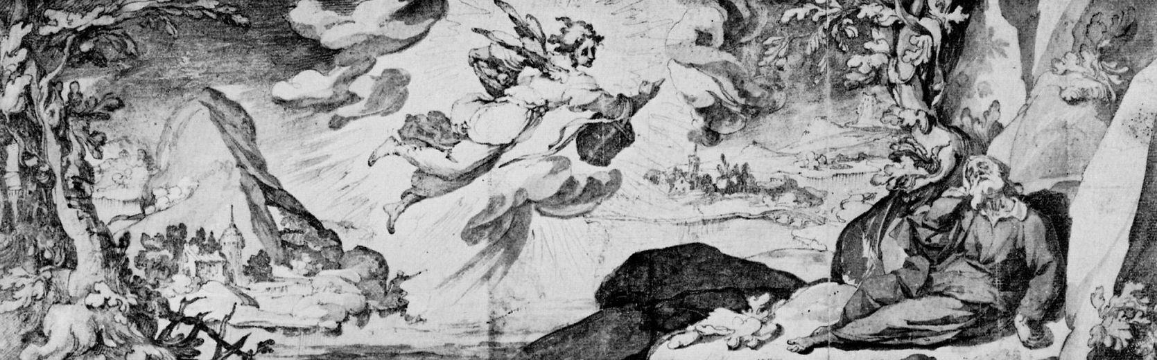 Андреа Босколи. Спящий у потока Хорафа пророк Илия