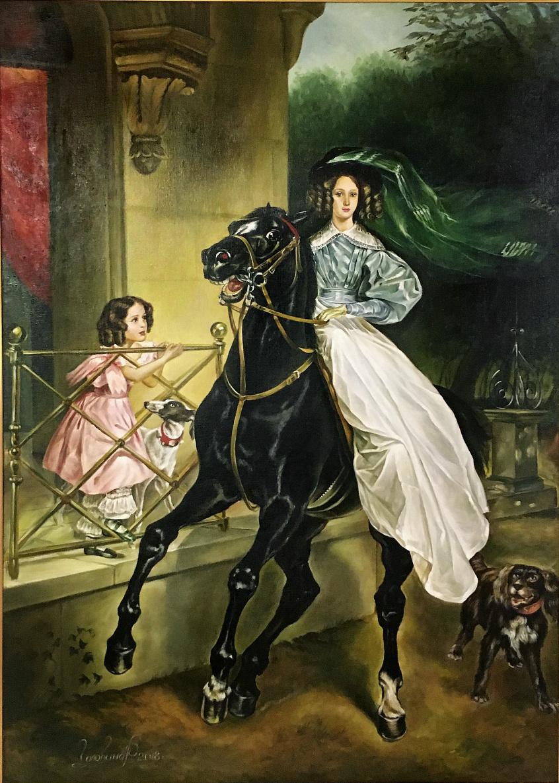 Rimma Vladimirovna Golovina. Rider