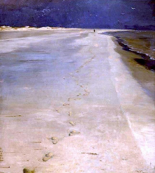 Педер Северин Крёйер. On the South Beach of Skagen