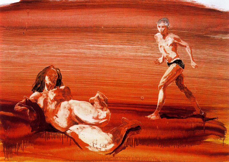 Eric Fischl. Nude woman
