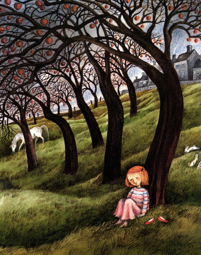 Фиона Муди. Девочка под деревом