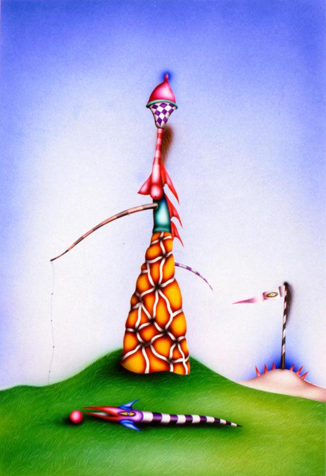 Norman ни Екатерина. Рыба и красный шар