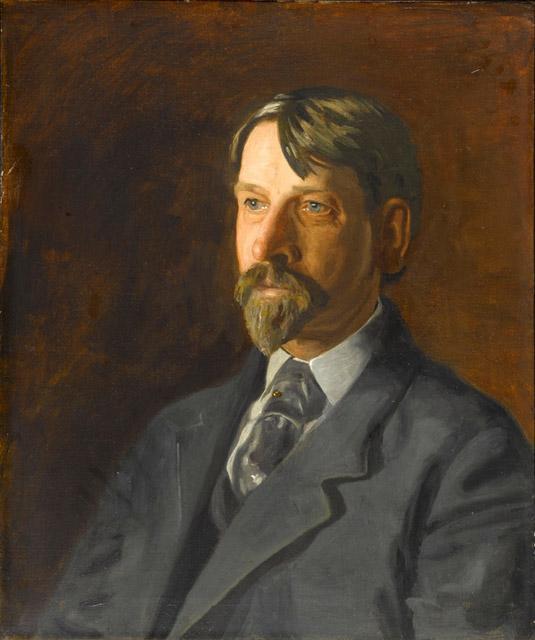 Thomas Eakins. Portrait of Dr. albert C. Gatchell