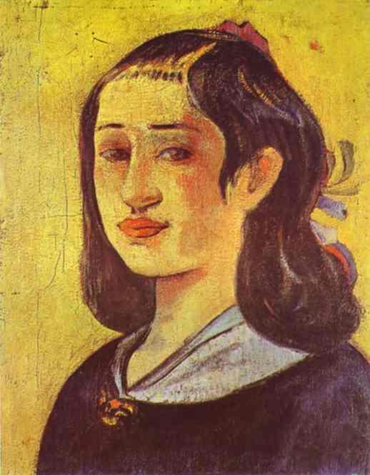 Поль Гоген. Портрет матери