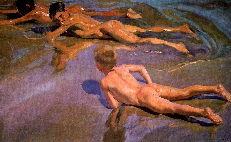 Хоакин Соролья (Соройя). Дети на пляже