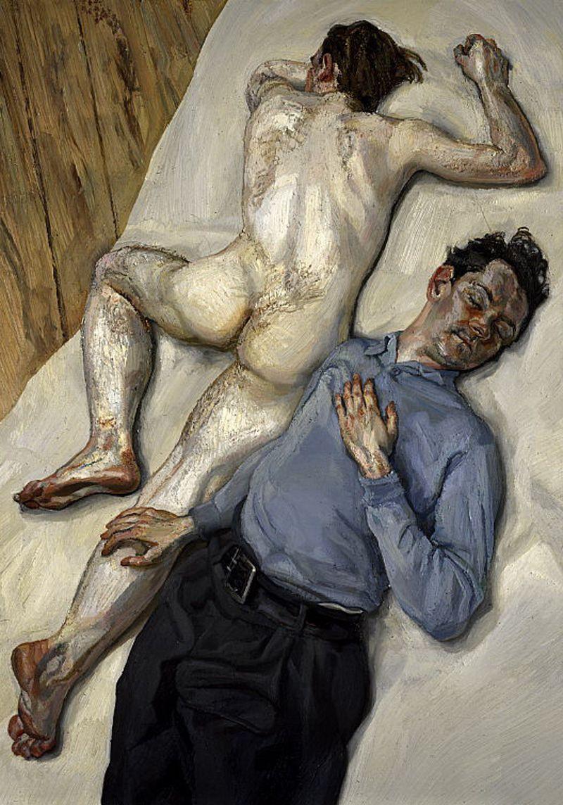 Lucien Freud. Two Men