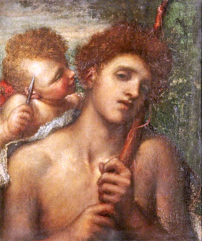 George Frederick Watts. The first whisper of love