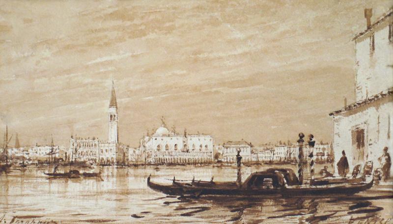 Алексей Петрович Боголюбов. Венеция