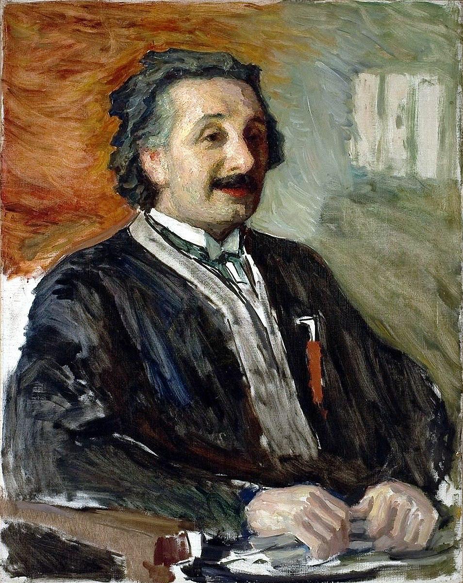 Leonid Osipovich Pasternak. The portrait of Albert Einstein