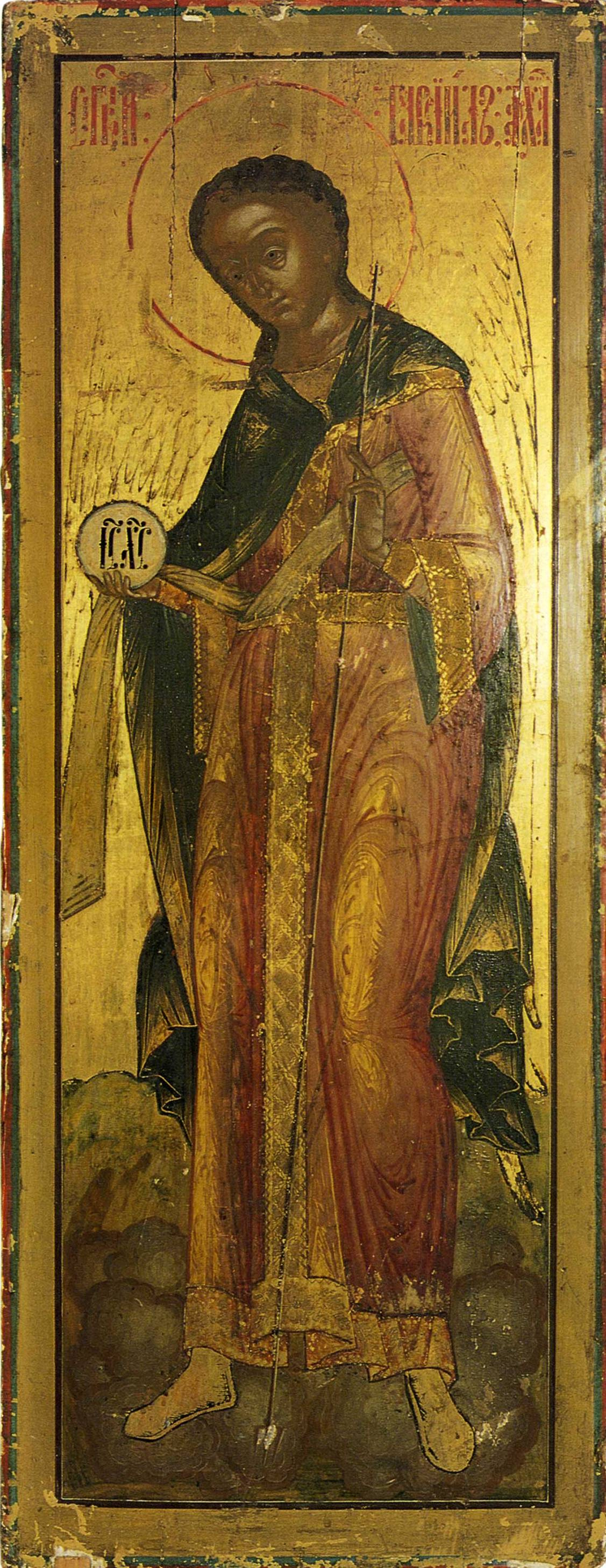 Icon Painting. Archangel Gabriel (Nevyansk)