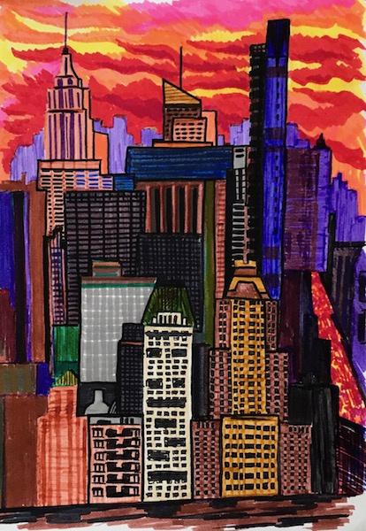 Larissa Lukaneva. New York