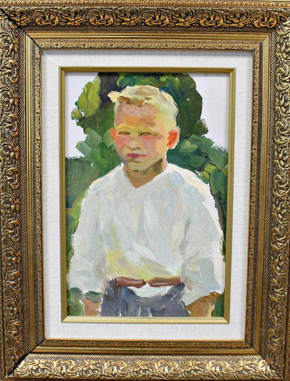 Orest Georgievich Betekhtin. Study of a boy