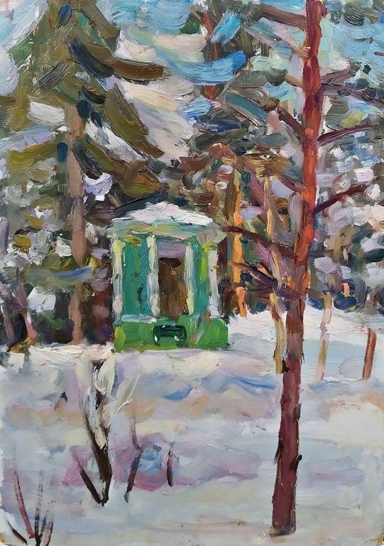 Vadim Filimonov. Winter sketch