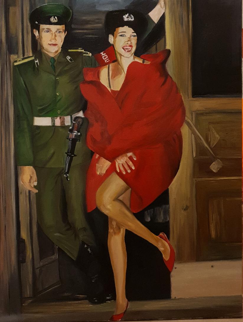 Catherine Samitina. Back to USSR