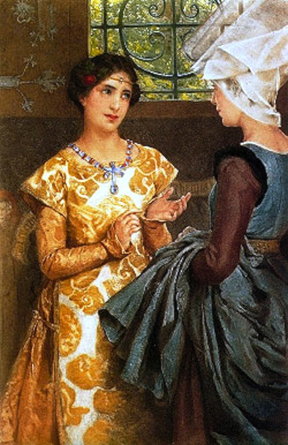 Laura Theresa Alma-Tadema. French Queen Catherine