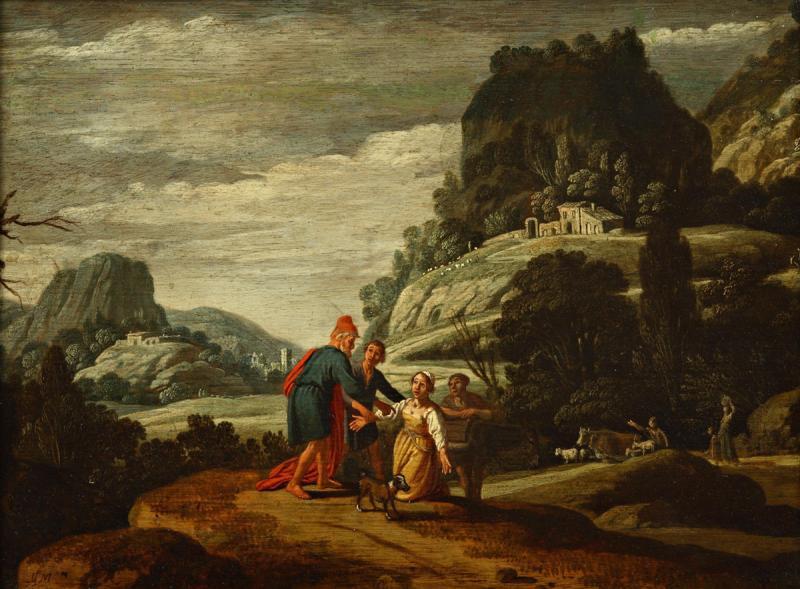 Клас Корнелис Муйарт. Пророк Елисей и сонамитянка