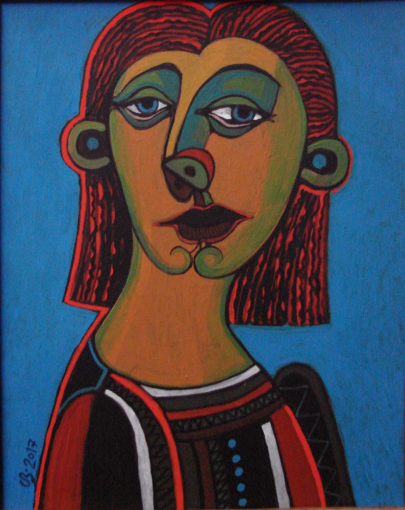 Sergey Zakharenko. Female portrait