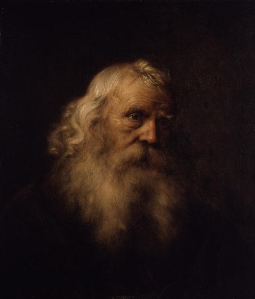Jan Lievens. Portrait of an old man with a beard