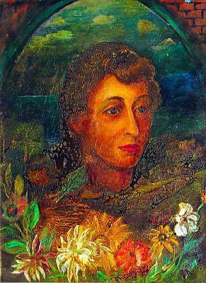 Давид Давидович Бурлюк. Портрет