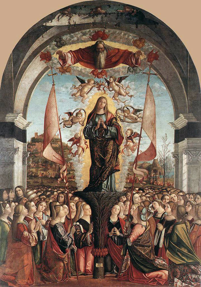 Vittore Carpaccio. The Apotheosis Of St. Ursula