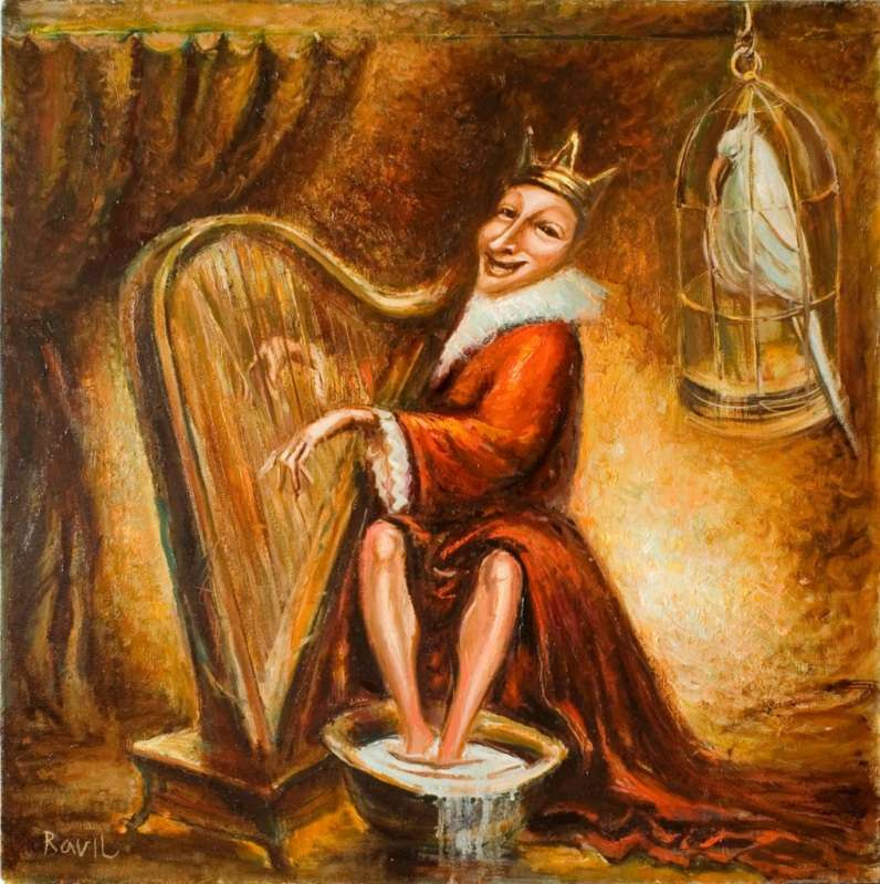 Равиль Акмаев. Вечерние частушки