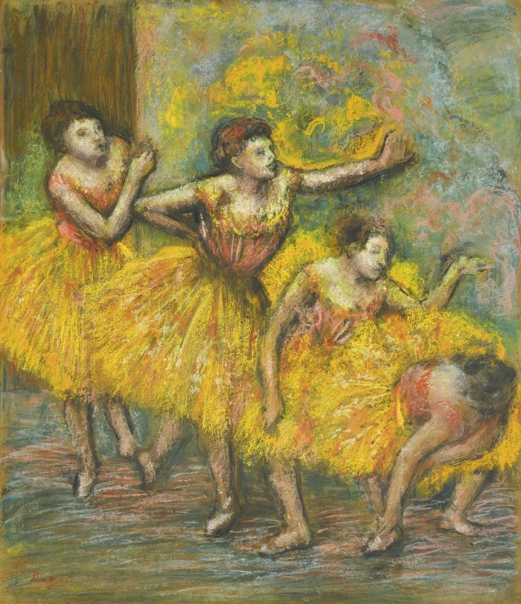 Эдгар Дега. Четыре танцовщицы