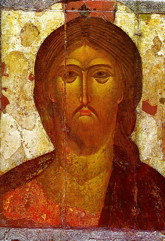 Icon Painting. Spas Awesome Eye